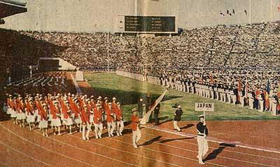 東京オリンピック・・・復興日本...