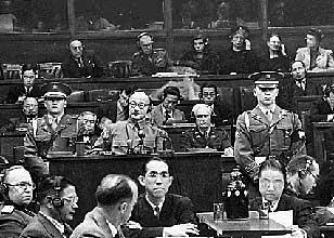 極東国際軍事裁判所開廷 | チュ...