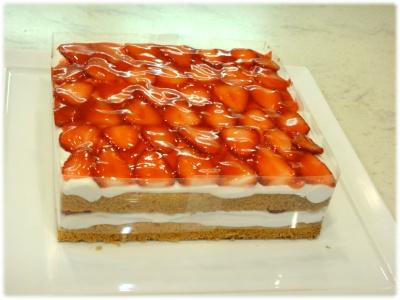 苺のショートケーキ先生作