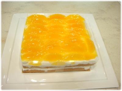 オレンジのショートケーキ先生作
