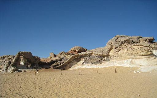 エジプト】水晶の山と白砂漠 ...