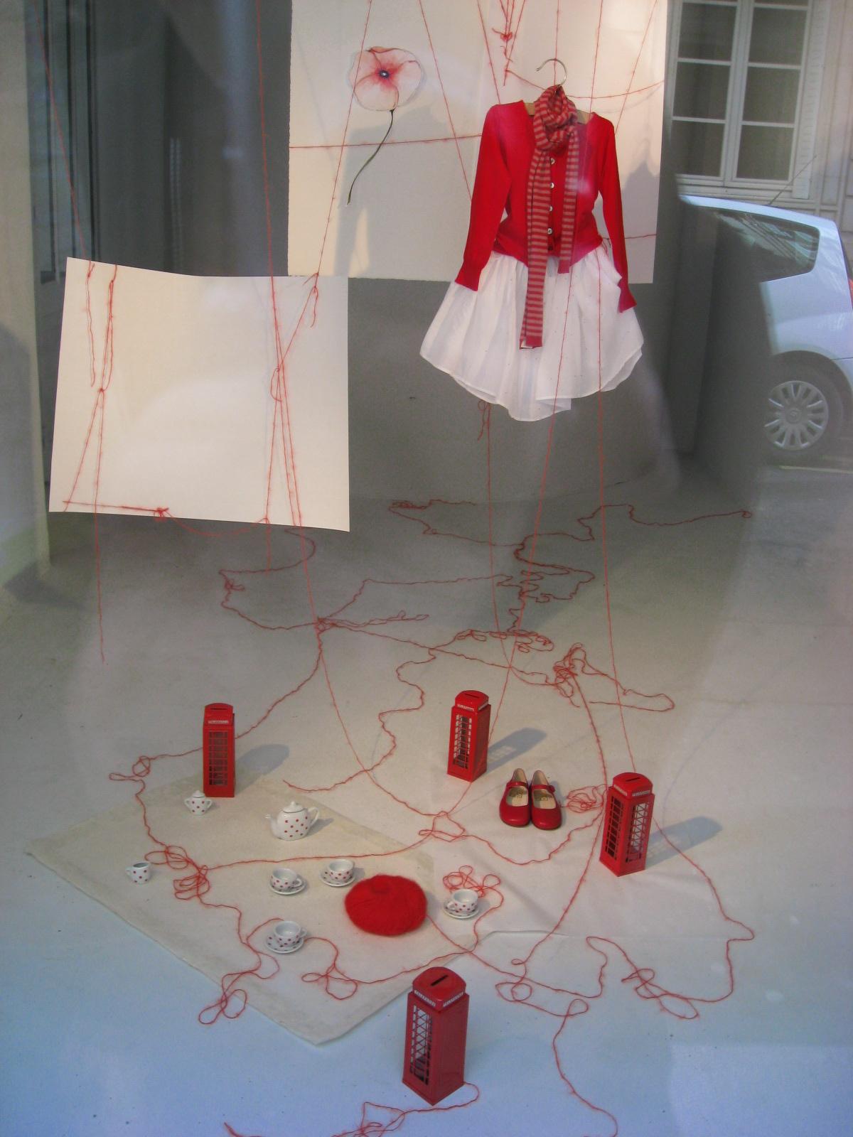 kawaii赤い洋服