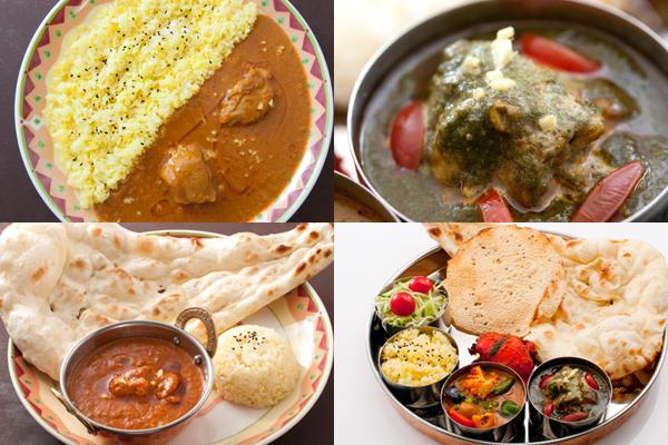 定番のインド料理