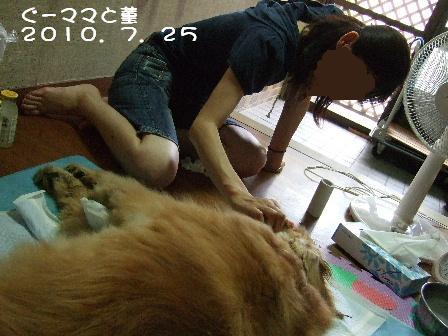 ぐーママと菫 2010.7.25.JPG