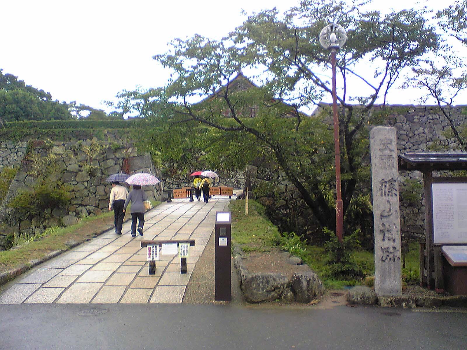 篠山城〜入口