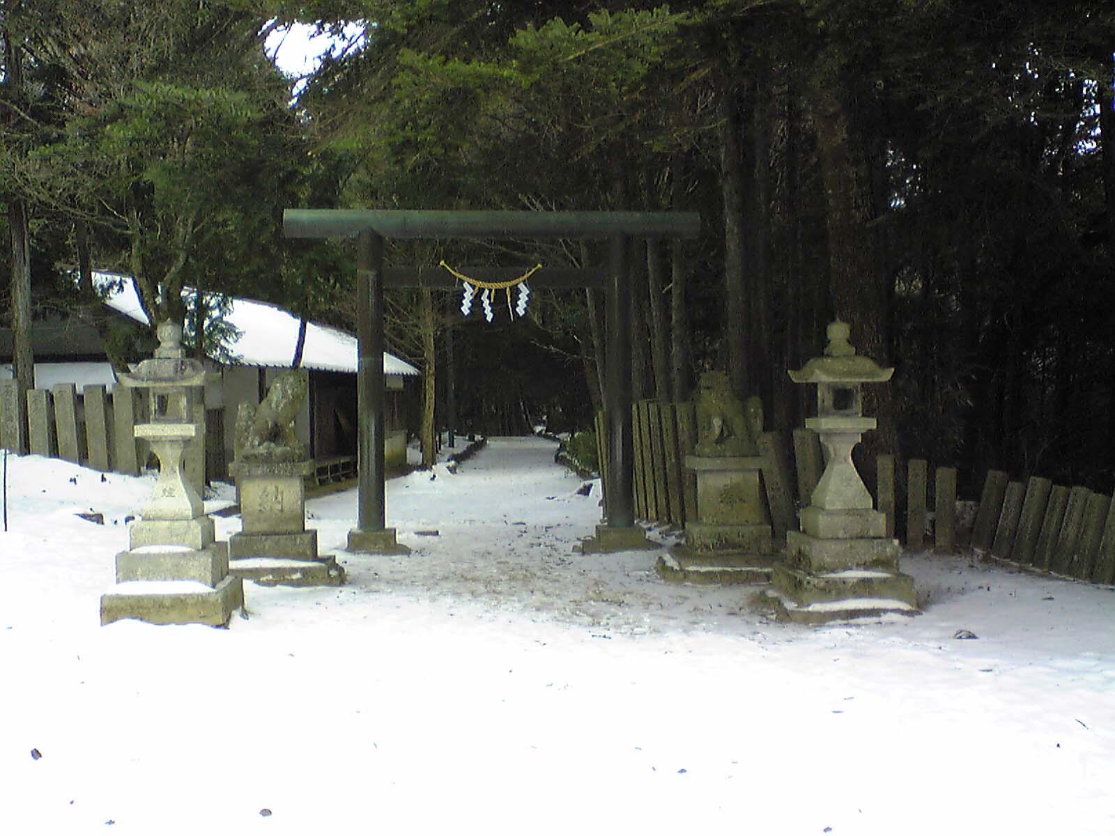 千早城〜本丸へ向かう道