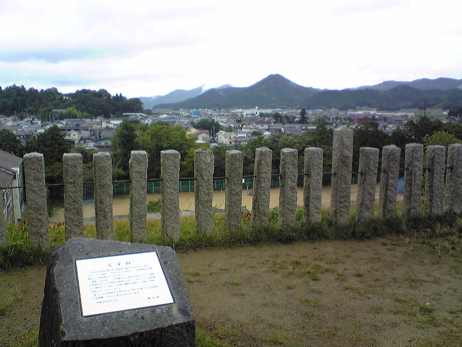 篠山城〜天守台からの眺望