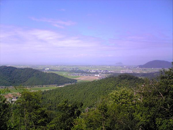 小谷城〜眺望