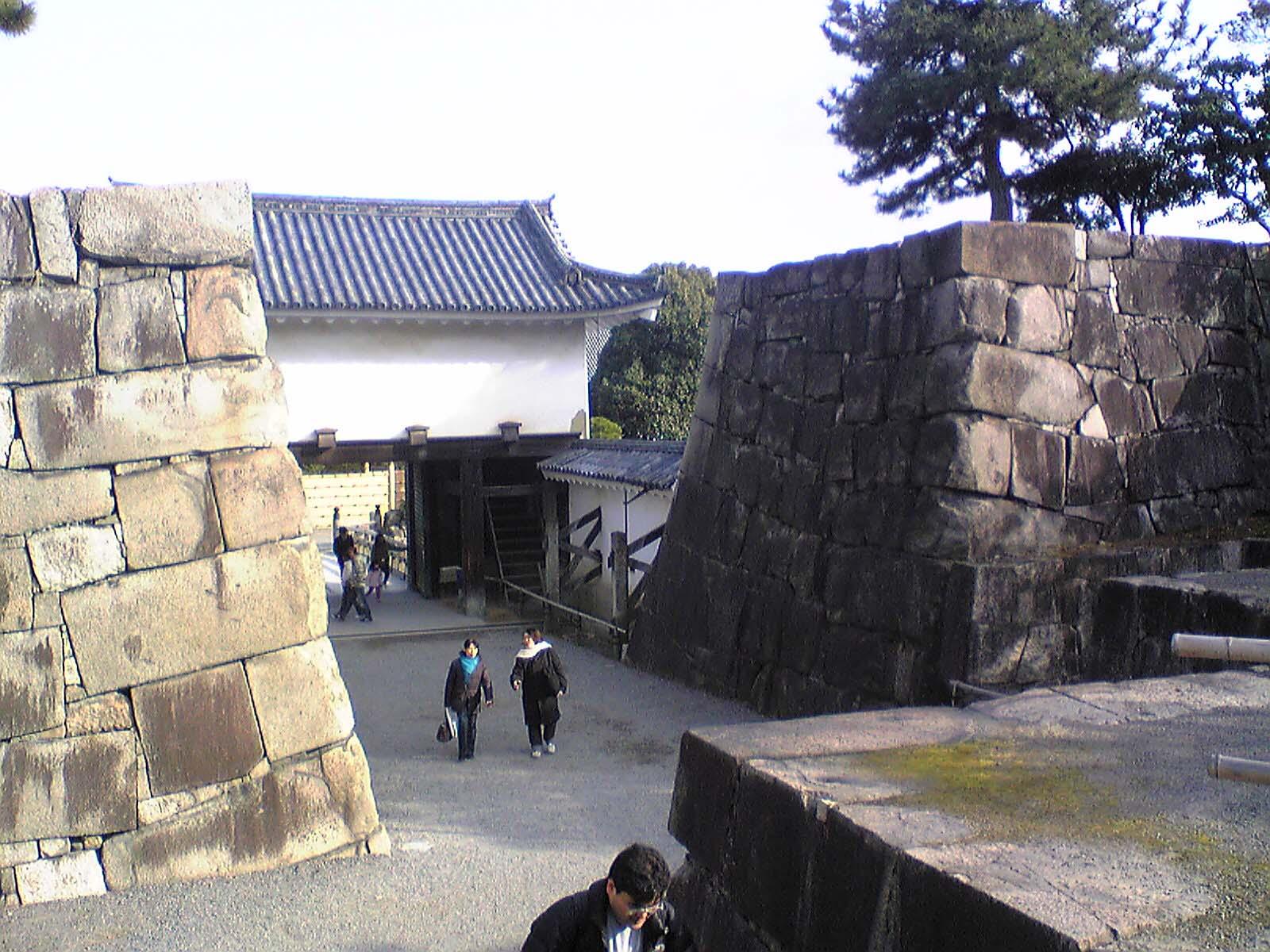 二条城〜櫓門を抜け本丸へ