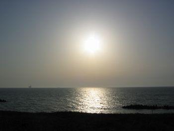 日も沈みそう…