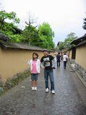 金沢長町にて妹と