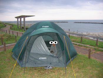 mosaさんのテント