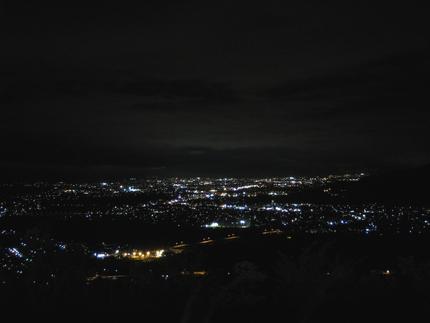 姥捨の夜景