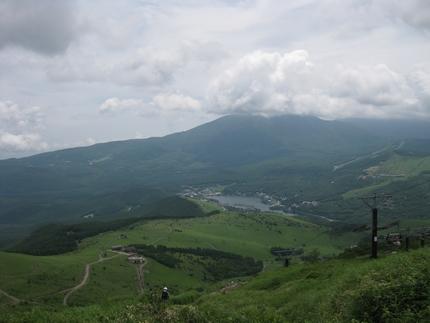 白樺湖遠望