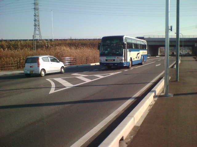 スマートIC高速バス乗り場前3