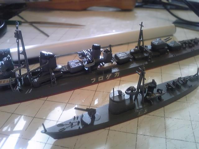 艦艇模型制作記(13号型駆潜艇)...