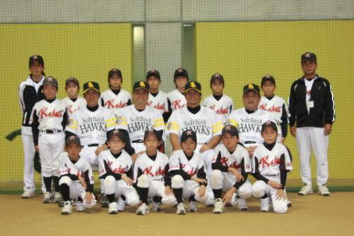 2008野球教室。