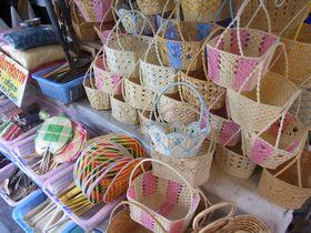 籐製品の店