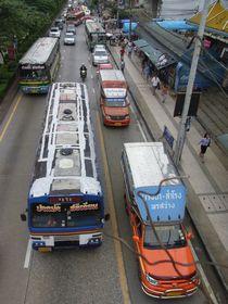 サムローンのバス停