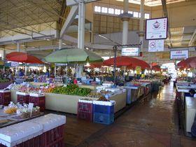 マハーチャイ・ムアンマイ市場内