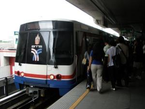 BTSサイアム駅から出発!