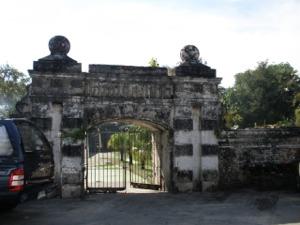 プレーンファイファー要塞入口の門