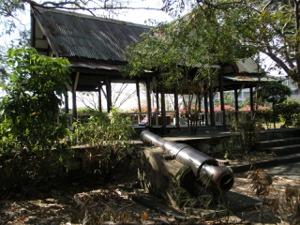 プレーンファイファー要塞の大砲