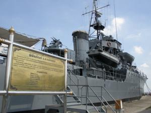 軍艦メークローン号博物館