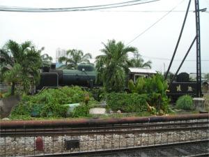 間違いなく蒸気機関車です!