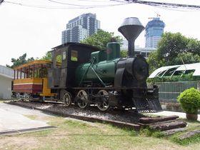 マハーチャイ線で使われていた蒸気機関車