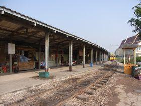 国鉄メークローン線バーンレーム駅