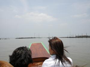 バンコク海に出ました!