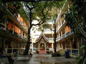 ワット・クンチャンの僧坊