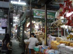 バーンブアトーン市場