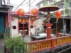 ラヘーン運河市場の中国廟