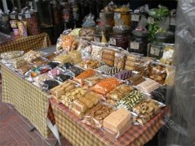 タイ菓子をうるお店