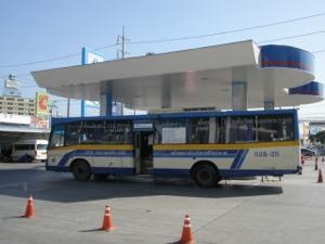 給ガス中の528番バス