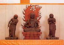 永寿寺の不動明王と二童子像