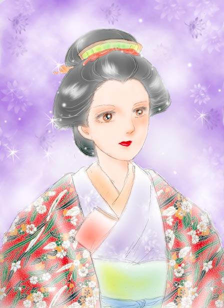 テレビドラマ「大奥」から「天璋院篤姫」を描きました。 ジャンル別一覧 出産・子育て ファッション