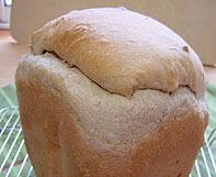パネトーネマザー黒糖くるみパンの顔