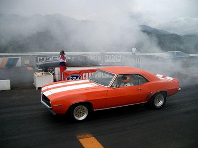 ドラッグレース 仙台ハイランドで開催されたドラッグレース(ソーキャル・レーストライアル... 動