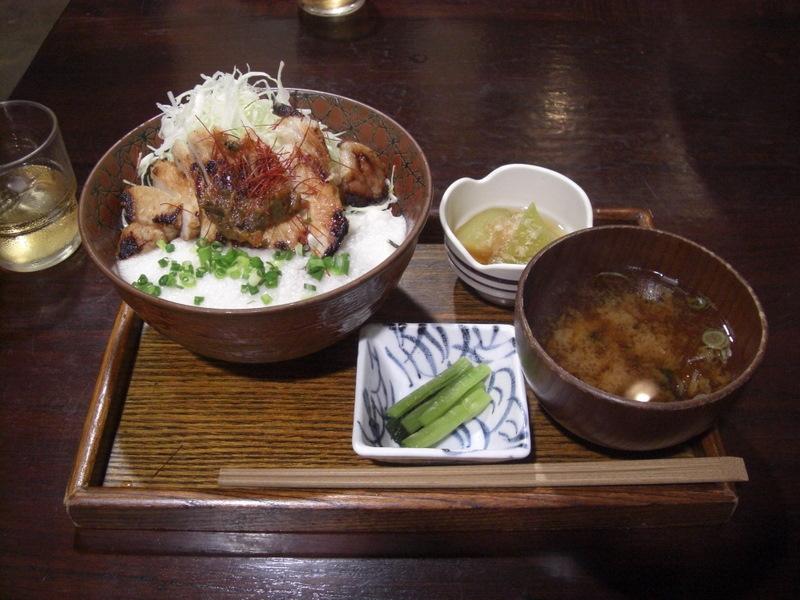 上田味噌豚丼