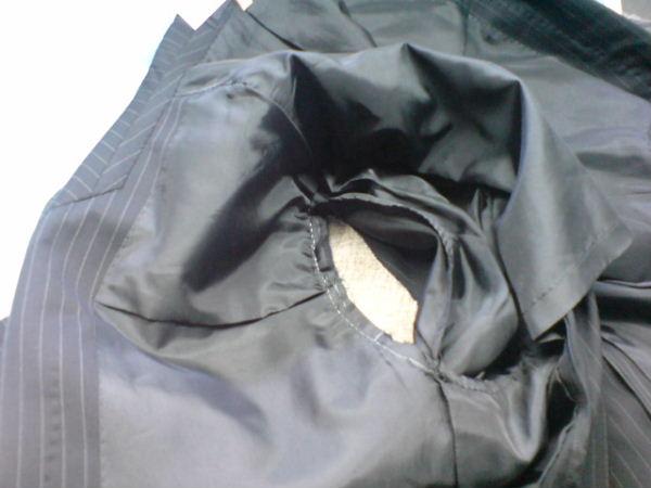ジャケット裂け1