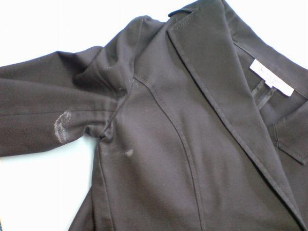 ジャケット汗染み1