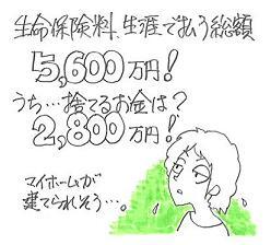 生命保険料 5,600万円!.JPG