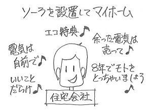 マイホームとエコ.JPG