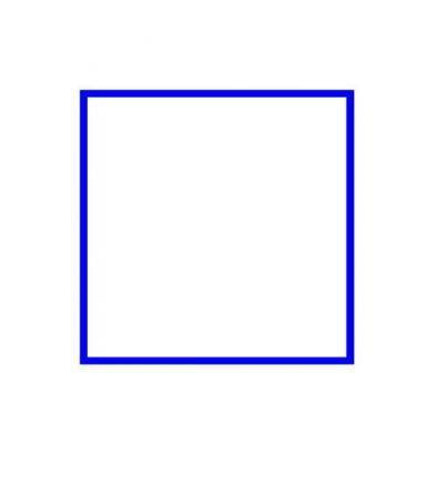 次に少しずらして、また四角を ...