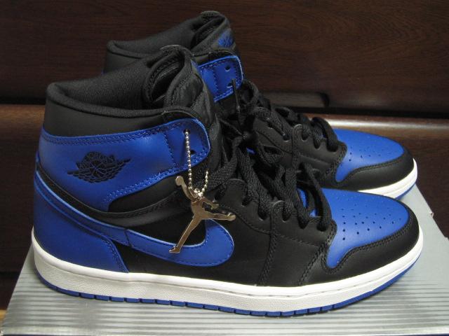 エアジョーダン 1 青黒