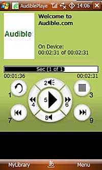 audible player
