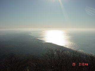 弥彦山から寺泊
